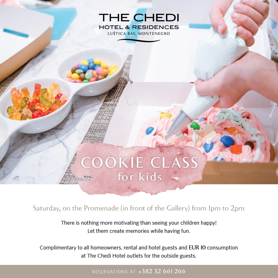 Cookie Class for Kids at The Promenade