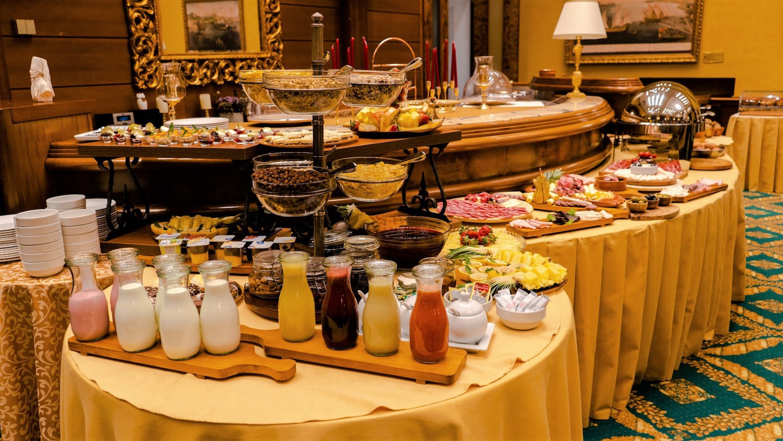 Family Style Friday Breakfast at Hotel Cattaro's Restaurant