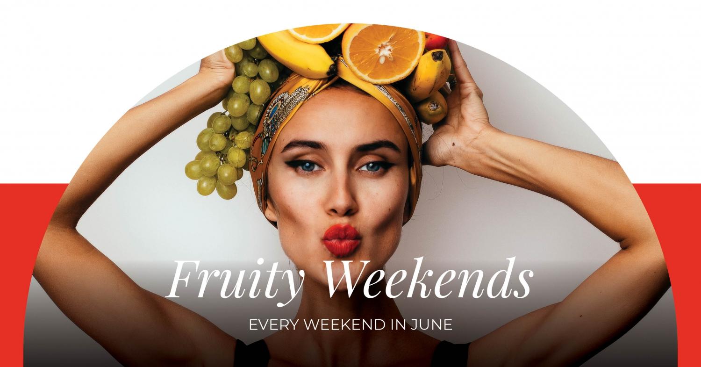 Fruity Weekends at Regent Porto Montenegro