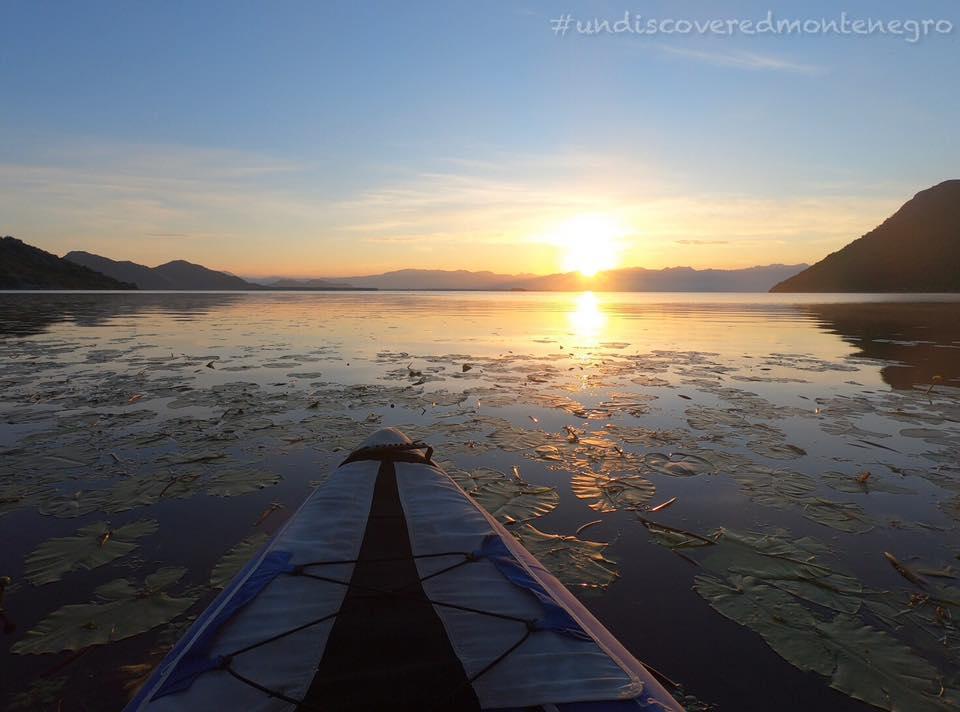 Kayaking at Skadar Lake National Park