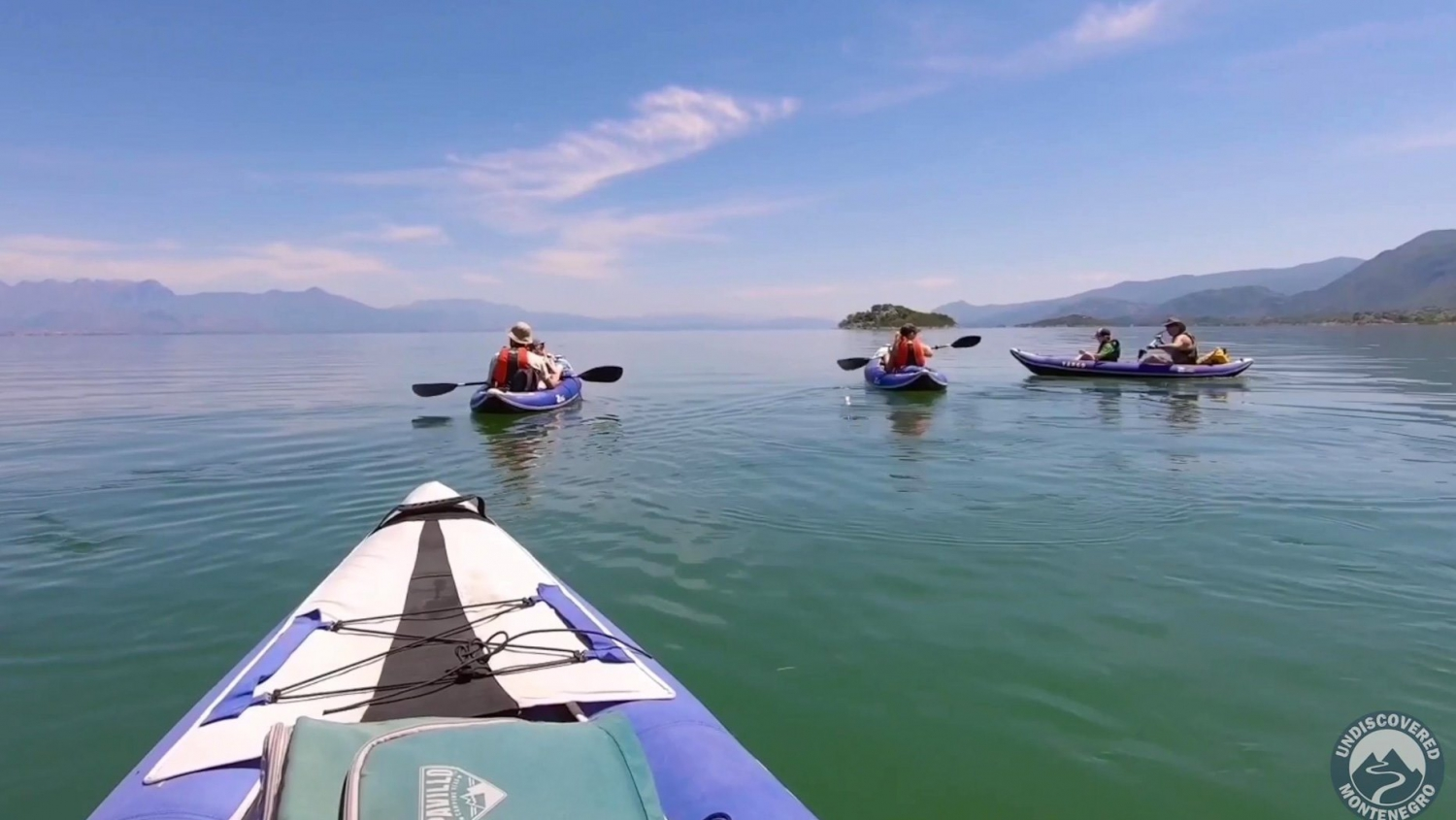 Kayaking to Skadar Lake Island Monasteries