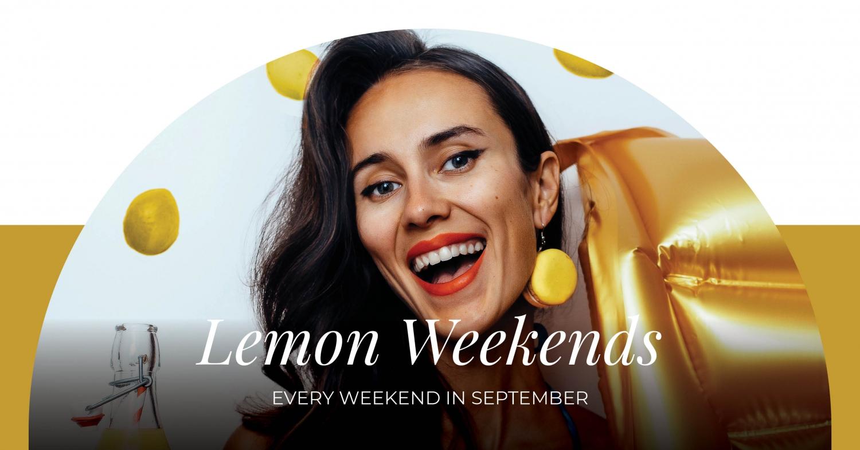 Lemon Weekends at Gourmet Corner