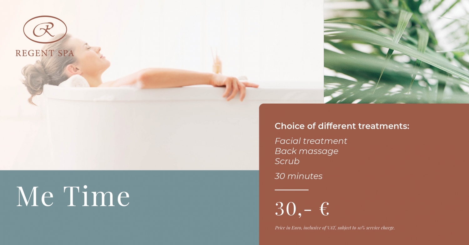 Me Time - Special Autumn Offer by Regent SPA