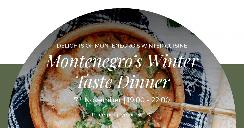 Montenegro's Winter Taste Dinner