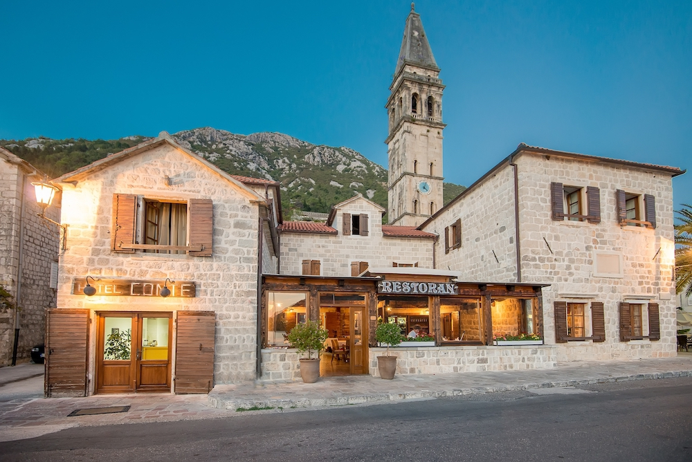 New Year's Holidays at Hotel Conte Perast