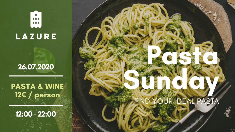 Pasta Sunday at Lazure