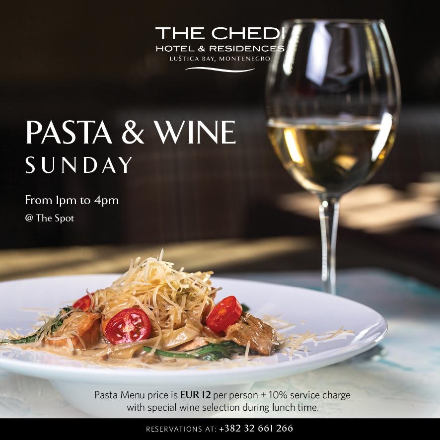 Pasta & Wine Sunday at The Spot