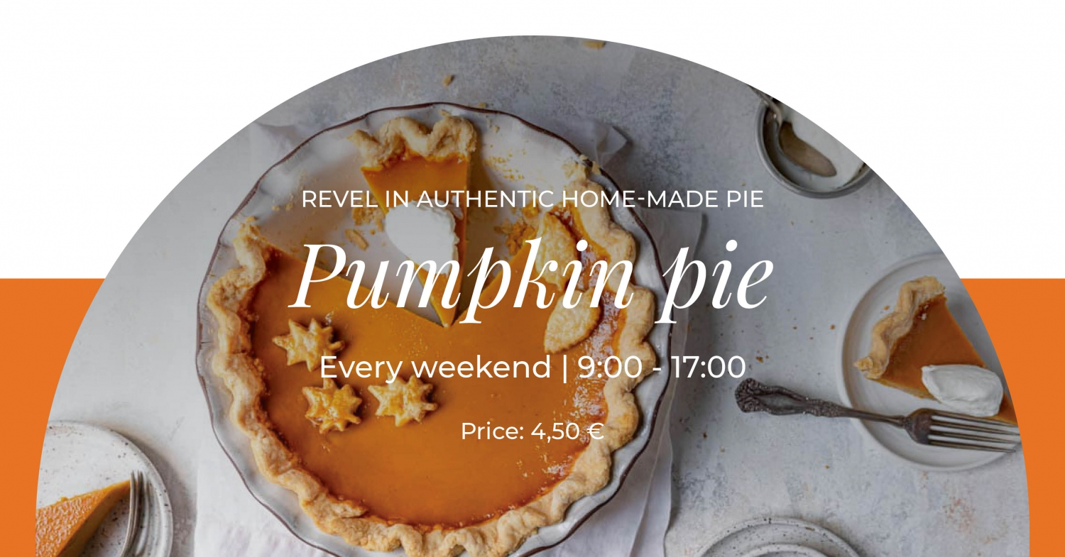 Pumpkin Pie Weekends