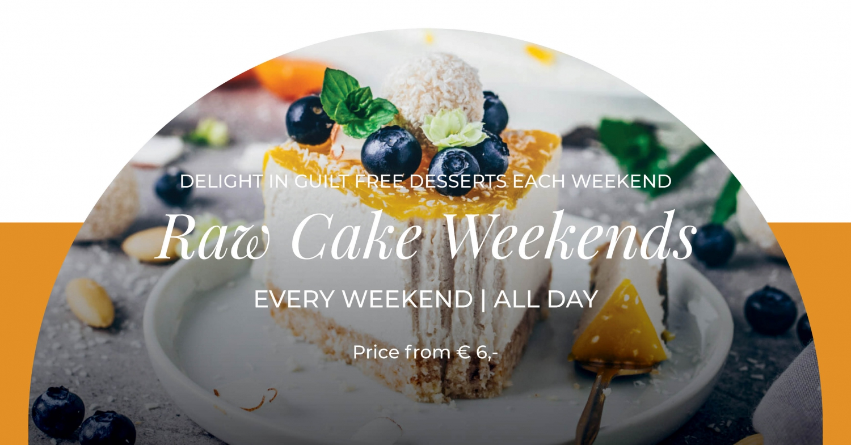 Raw Cake Weekends at Gourmet Corner