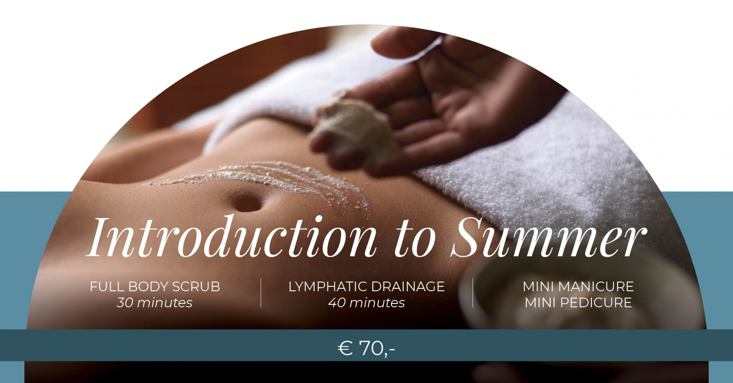 Regent's Special Spa Offers - Introduction to Summer