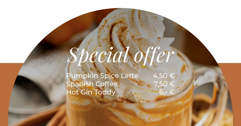 Special Beverages Offer by Gourmet Corner