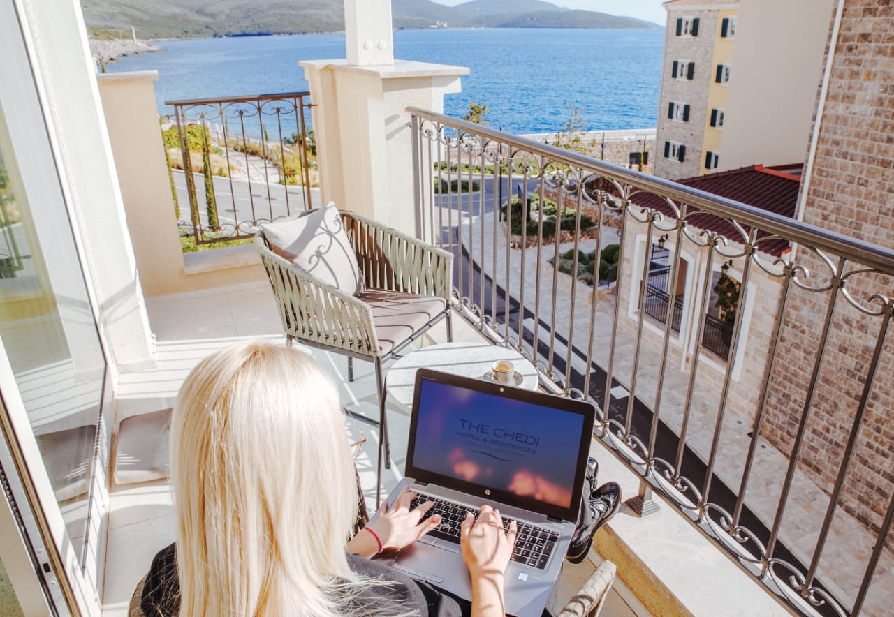 Special Offer by The Chedi Lustica Bay: Home Away From Home Office