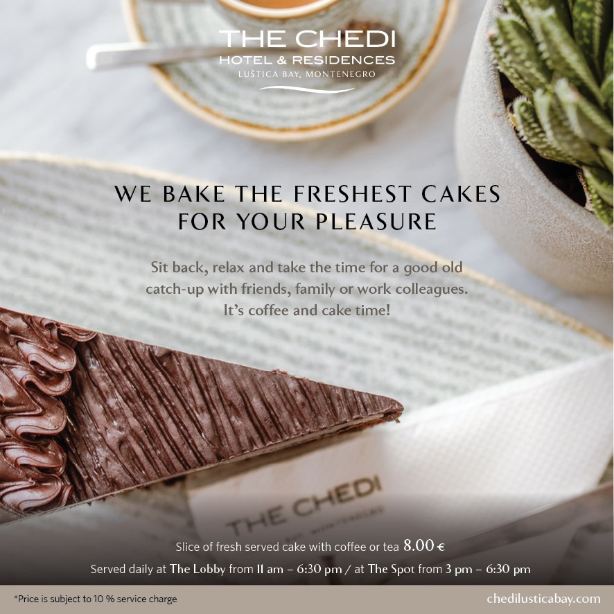 Special Offer: Cake and Coffee Daily at The Chedi