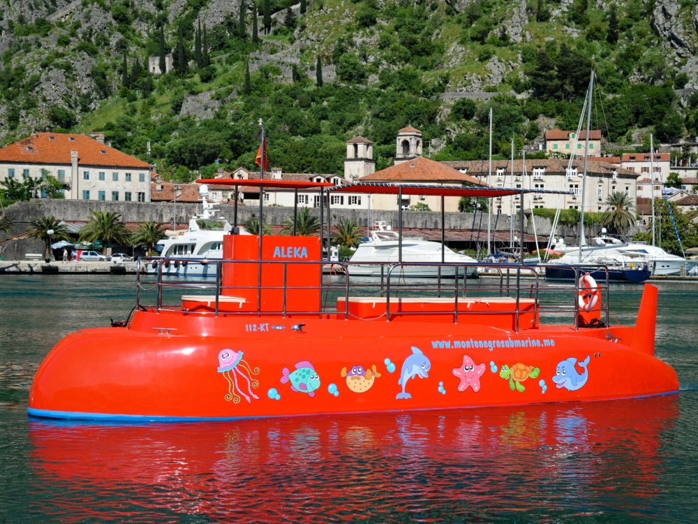Special Tours: Kotor Panorama and Underwater Experience