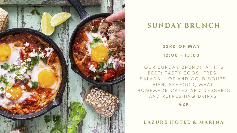 Sunday Brunch at Lazure Hotel