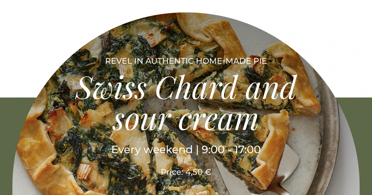 Weekend Offer: Swiss Chard and Sour Cream Pie at Regent Porto Montenegro