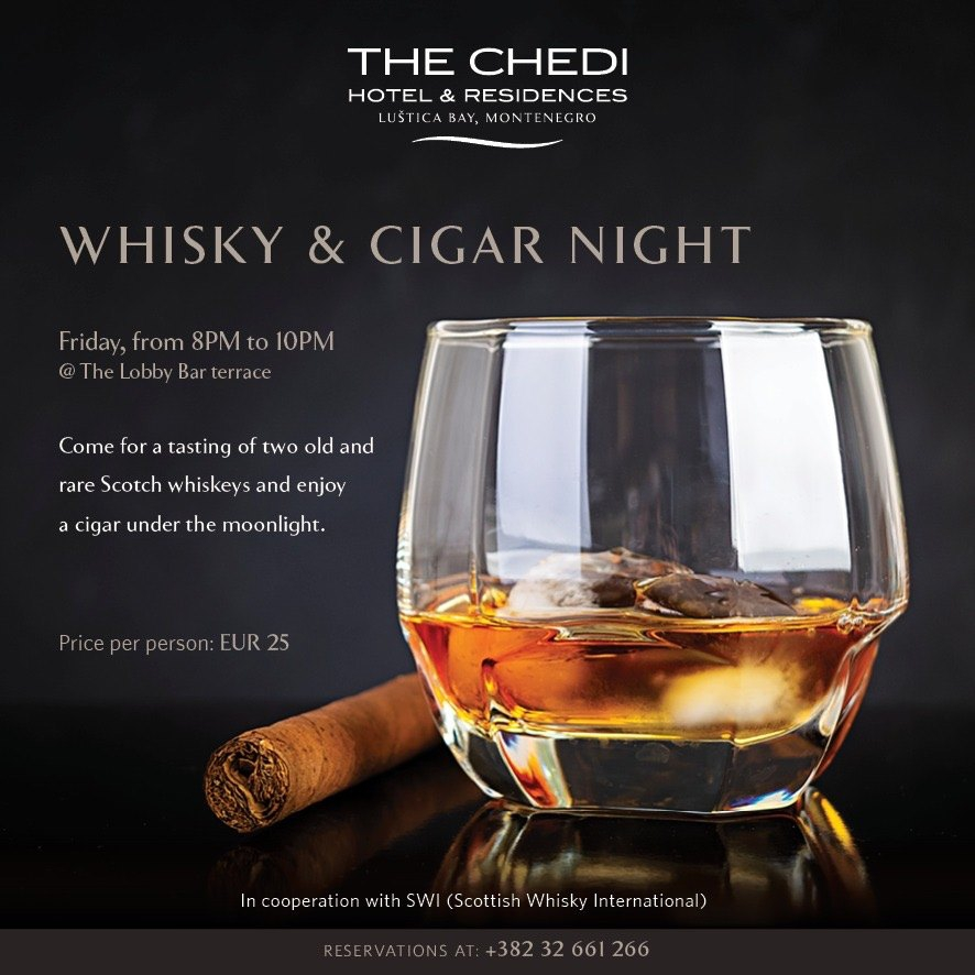 Whisky & CIgar Night