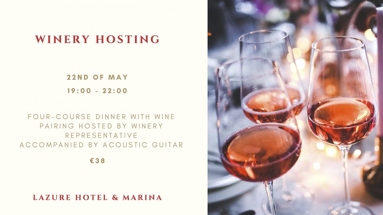 Winery Hosting at Lazure Hotel