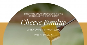 Cheese Fondue at Gourmet Corner