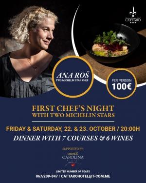 First Chef's Night at Hotel Cattaro