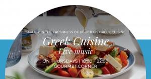 Greek Cuisine at Gourmet Corner