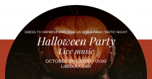Halloween Party at Library Bar