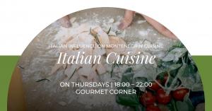 Italian Cuisine at Gourmet Corner