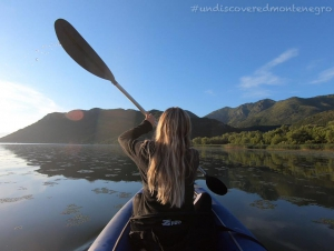 Kayaking at Skadar Lake National Park