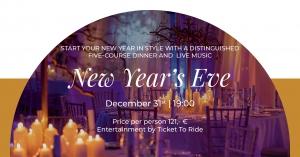 New Year's Eve at Murano Restaurant
