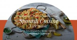 Spanish Cuisine at Gourmet Corner