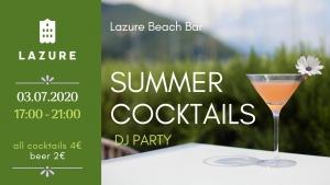 Summer Cocktails DJ Party at Lazure