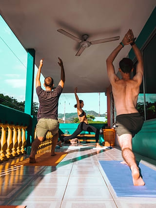 Yoga Class in Selina Casco Viejo Panama City