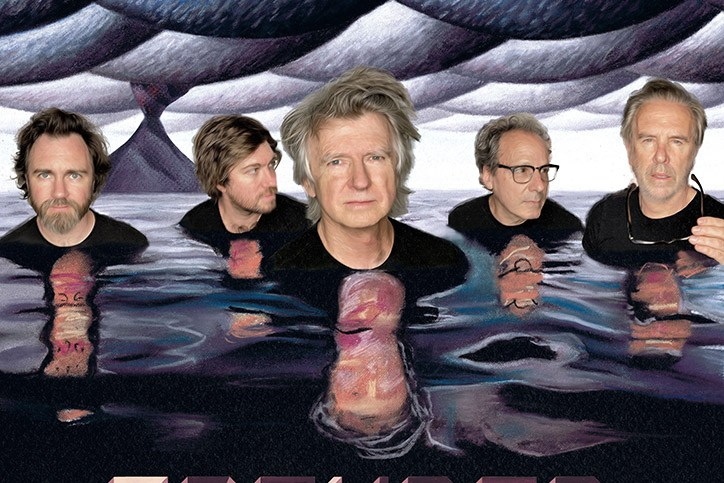 """CROWDED HOUSE - """"TO THE ISLAND"""" TOUR"""