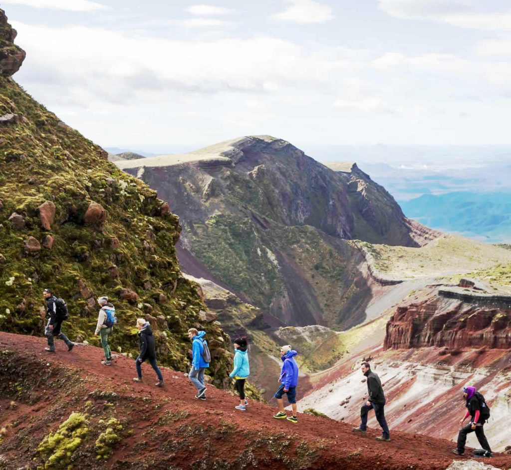 Mount Tarawera Guided Walk