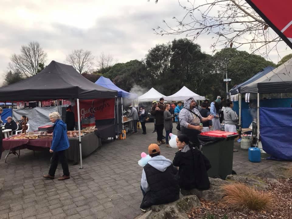 Rotary Market at Kuirau Park