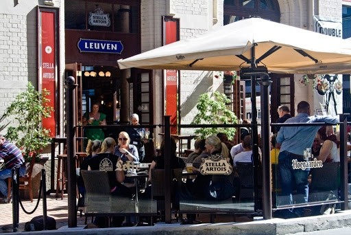 Leuven Belgium Beer Cafe