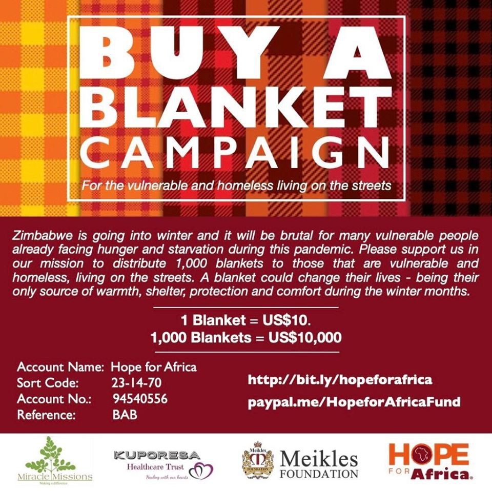 Buy A Blanket Campaign