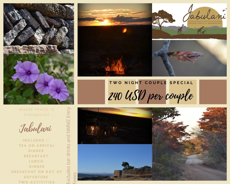 Jabulani Safaris Couples Weekend Special