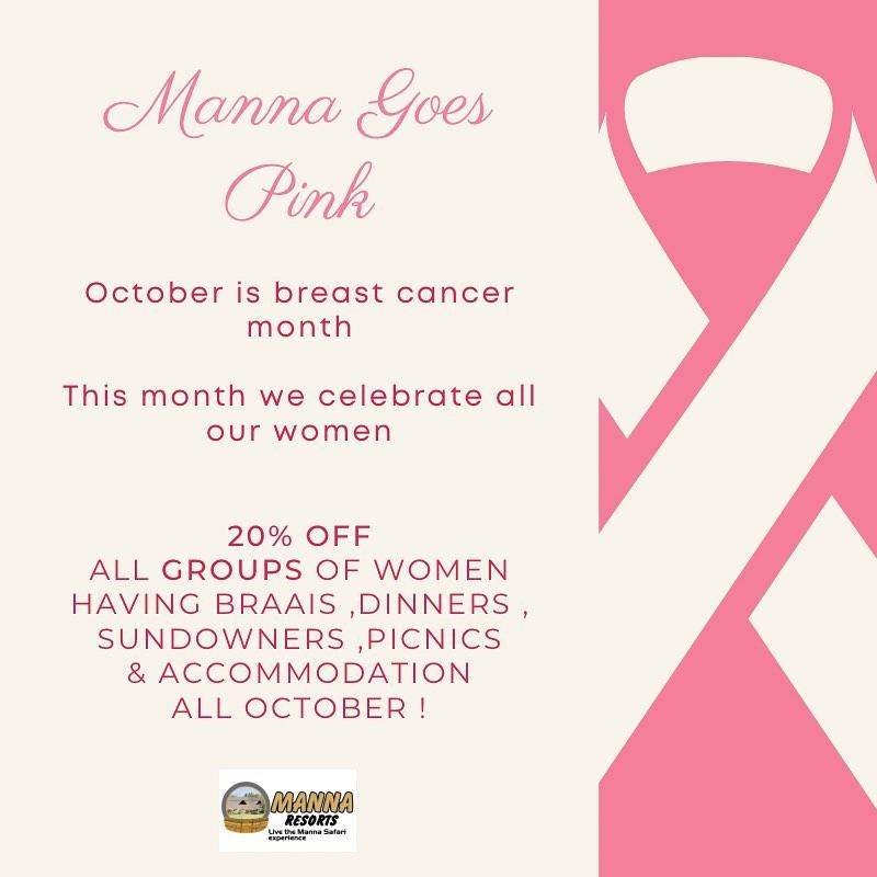 Manna Resorts - Pink October Special 2020