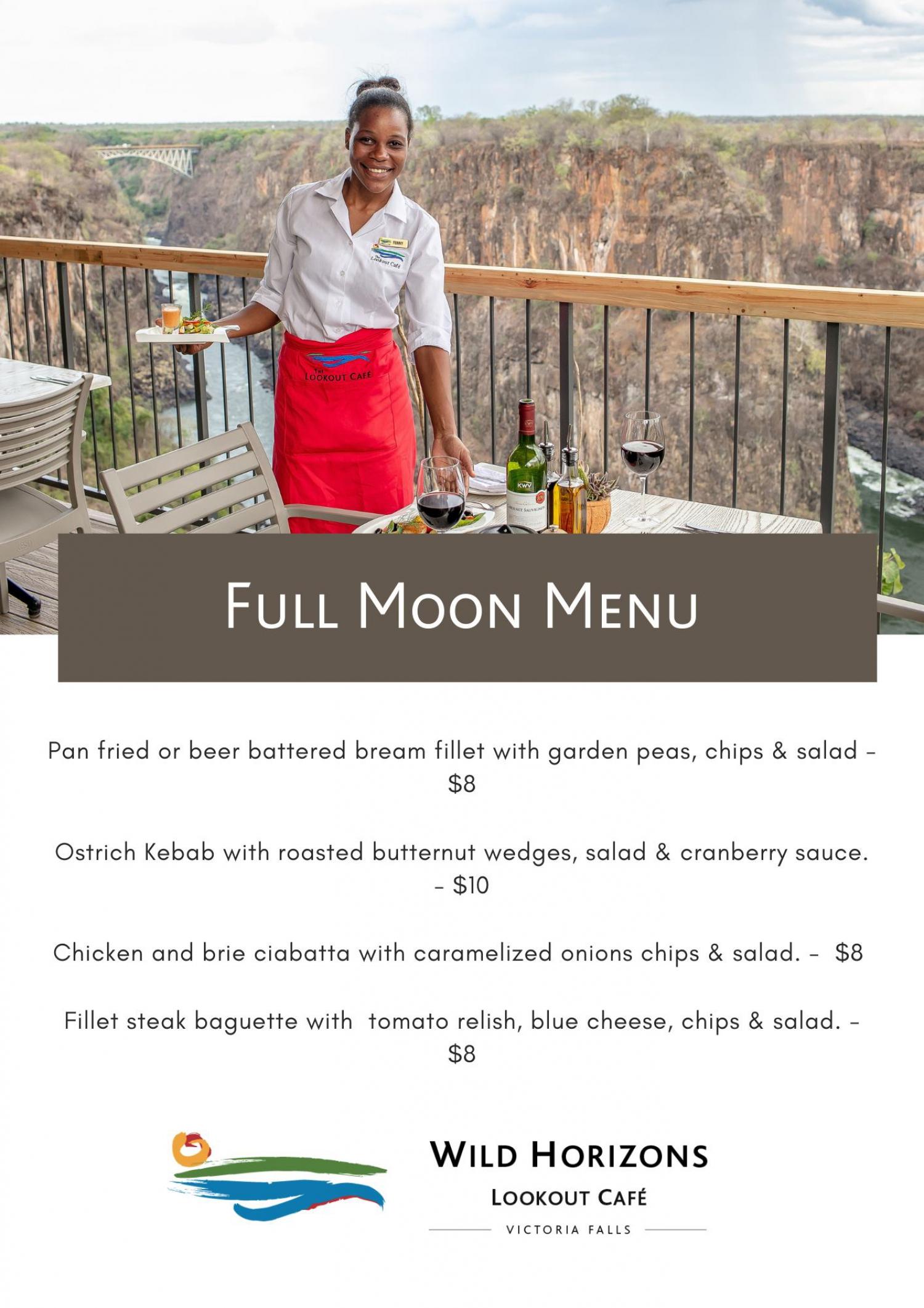 Wild Horizons Full Moon Dinner