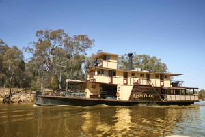 From Hotel Stay and 1-Night Murray River Cruise