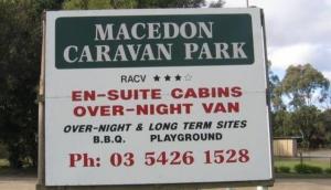 Macedon Caravan Park Cabins