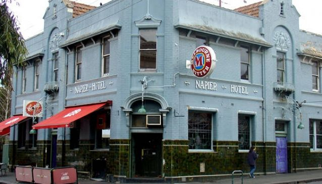The Napier Hotel in Melbourne   My Guide Melbourne