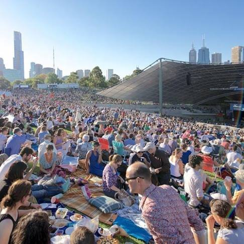 2018 Sidney Myer Free Concerts