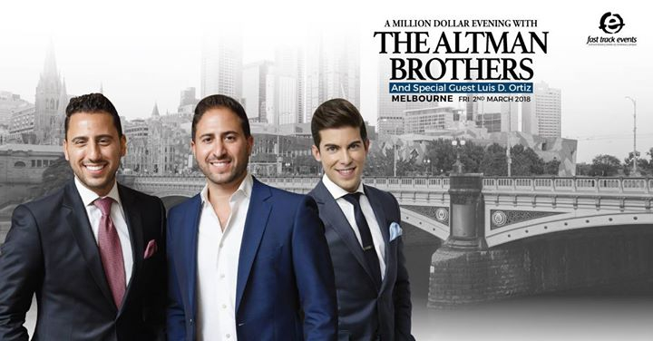 A Million Dollar Evening With The Altman Brothers & Luis Ortiz