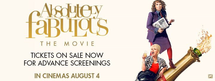 Absolutely Fabulous: The Movie - Book Your Tickets Now