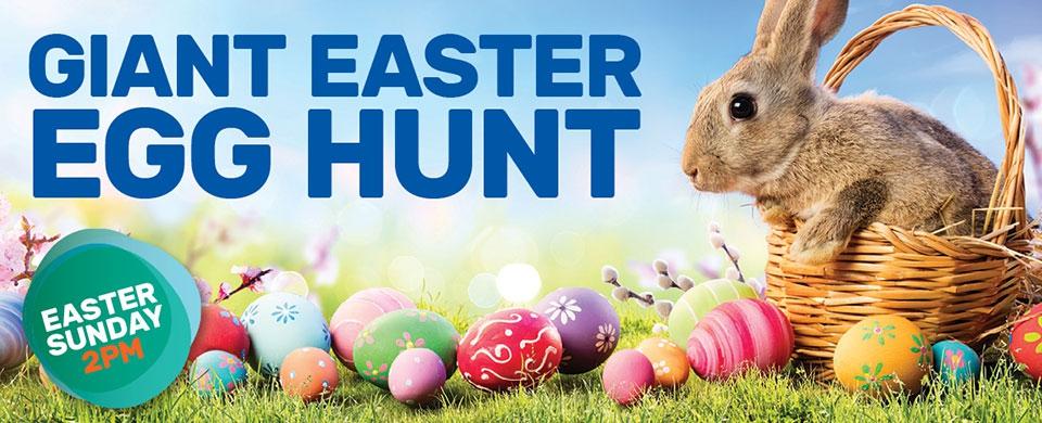 Adventure Park's Giant Easter Egg Hunt