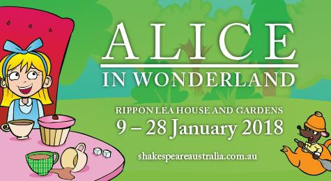 Alice in Wonderland - Outdoor Family Theatre at Rippon Lea