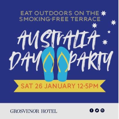 Australia Day at Grosvenor Hotel