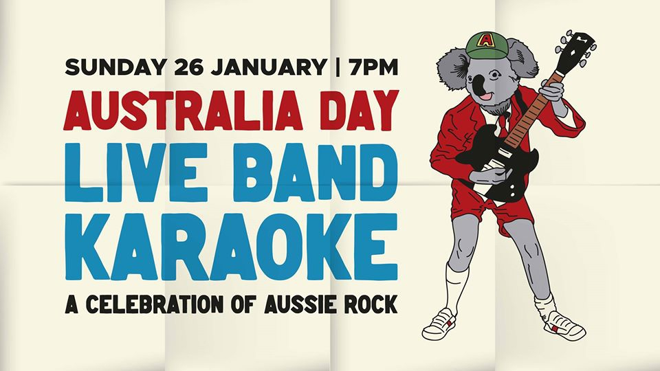 Australia Day - Live Band Bush Fire Fundraiser